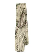 1689 Antique World Globe Map Fleece Scarf - Two Sizes - Warm for Winter