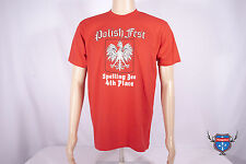 POLISHFEST SPELLING BEE 4th place funny American Apparel red 2001 t-shirt S L XL