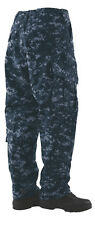 Tru-Spec Midnight Digital 10 pocket Tactical Response Uniform pants 65/36 PC RS