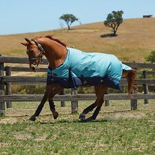 Weatherbeeta 1200D Waterproof Winter Horse Blanket Turnout Heavy Blue 76 78 80