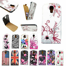 Leather Card Slots Flip Phone Pouch Cover Case For Samsung Galaxy S4 S IV i9500