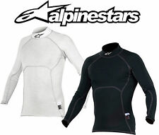 Alpinestars ZX Nomex Top FIA Approved, Anthracite/White, Fire-retardant for Race