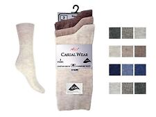 6 Pairs Ladies Aler Smooth Cotton Lycra Everday Ankle Socks