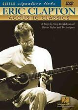 ERIC CLAPTON - ACOUSTIC CLASSICS NEW DVD