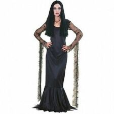 Rubies Morticia Addams Family Womens Dress Goth Adult Halloween Costume 15526