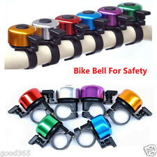 Bicycle Bike Cycling Handlebar Metal Bell Ring Sound Alarm Loud Warning Horn New