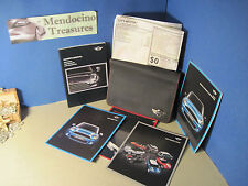 2013 MINI COOPER COUPE ROADSTER CONVERTIBLE OWNERS MANUAL CASE & WINDOW STICKER