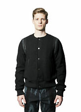 NWT DRIES VAN NOTEN RUNWAY FW'14  VINSON BOMBER BLACK JACKET SZ M