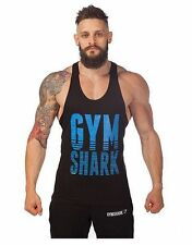 New GYM Bodybuilding Tank Top Fitness Vest Sleeveless Shirts Muscle Y-Back Mens