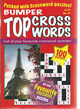 3 BUMPER CROSS WORDS MAGAZINES MOST WITH 100+ PUZZLES AT A BARGAIN PRICE SET 5