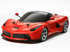 COMBO DEAL! 58580 TAMIYA LA FERRARI TB-04 1/10th R/C KIT RADIO CONTROL CAR