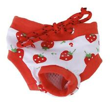 Pet Dog Female Physiological Sanitary Pants Panty Diaper Briefs Size S/M/L/XL