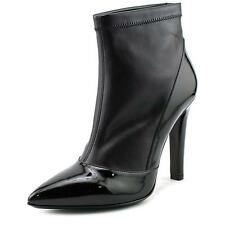 Studio Pollini Patent Ankle Boot Women Peep-Toe Patent Leather Black Ankle Boot