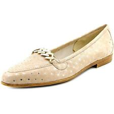 Amalfi By Rangoni Oste Women N/S Pointed Toe Suede Nude Loafer