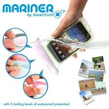 Touchscreen Waterproof Underwater Snow 3 Lock Pouch Bag Pack Case for Cell Phone