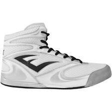 Everlast Contender Low Top Boxing Shoes - White - boots mma training mens lo