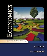 Economics: Principles and Applications by Marc Lieberman and Robert E. Hall...