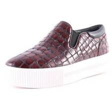Ash  Karma Cardinal Patent Congo Womens Leather Red Black Platform New Trainers