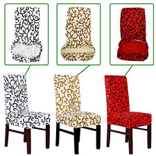 PADDY STRETCH SHORT REMOVABLE DINING ROOM OFFICE STOOL CHAIR COVER SLIPCOVERS UK