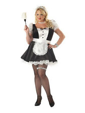 Womens Fiona The French Maid Plus Fancy Dress Fancy Dress Costume
