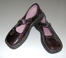 NEW Carole Little big girls brown Mary Jane shoes sz 2 youth