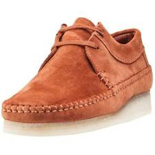 Clarks Weaver Mens Shoes Rust New Shoes