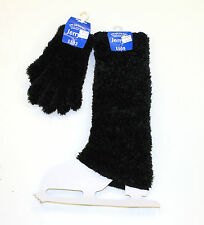 Jerry's Skating Set of Black Furry Gloves and Furry Legwarmers - 1103 - 1105