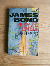 JAMES BOND THE SPY WHO LOVED ME BY IAN FLEMING 1st PAN EDITION 1967