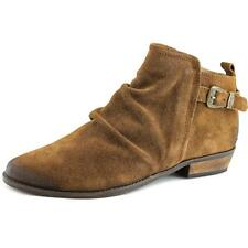 Naughty Monkey Buckle Me Up  Women  Round Toe Suede Tan Bootie