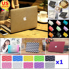 "2in1 Marble Rubberized Matte Hard Case Cover for MacBook Air 11"" A1370 A1465"