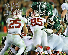 Michigan State football Great Moments in history signed autograph reprinted 8x10