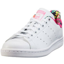adidas Stan Smith W Womens Trainers White Tropical New Shoes