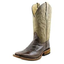 Circle G by Corral L5089 Men  Square Toe Leather Brown Western Boot