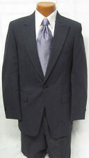 Mens Gray Tuxedo Stroller Jacket w/ Hickory Stripe Pants Victorian Wedding 41XL