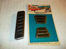 "PINTO GAS PEDAL, BRAKE & CLUTCH PAD SET~EASY INSTALL~EARLY 71""~SUPER BARGAIN!!"