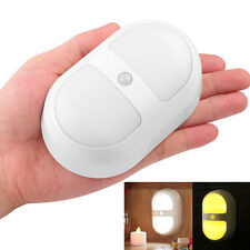 Wireless Indoor 10 LED Night Light Lamp Motion Sensor Battery Operated For Home