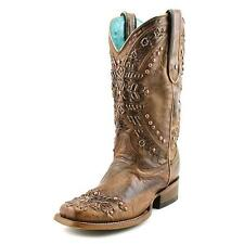 Corral C2918 Women  Square Toe Leather Brown Western Boot