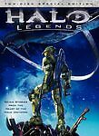 HALO LEGENDS (DVD, 2010, 2-Disc Set, Special Edition) NEW