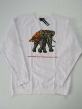 Elephant Heavyweight White Crew Sweater DIAMOND SUPPLY Co Company XL Crewneck