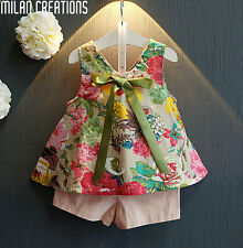 Children Clothing Girls Set Summer 2016 Toddler Girl Clothing Floral Print