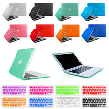 """2in1 Glossy Hard Case Crystal + Keyboard Cover For Macbook Pro 13/15"""" Air 11/13"""""""