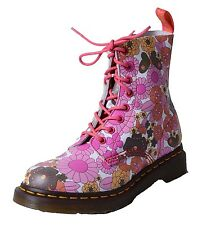 Dr. Martens 8-hole Boots Women's Lace-up Boots Leather Vintage Daisy