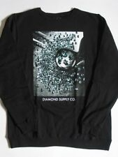 Gem Quality Black Crew Sweater DIAMOND SUPPLY Co Company Crewneck XL XLarge Mens