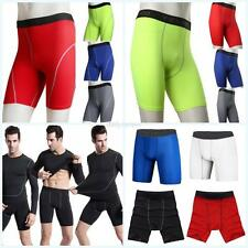 Men Compression Sport Pants Athletic Training Skin Tight Under Base Layer Shorts