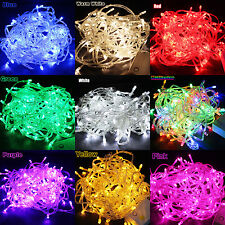 10/20M100/200LED String Fairy Lights Xmas Christmas Party Wedding Indoor/Outdoor