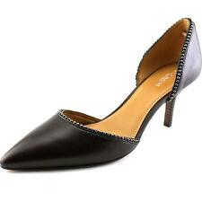 Coach Blossom Women  Pointed Toe Leather Brown Heels