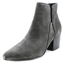 Belle Sigerson Morrison Cynna Women  Pointed Toe Suede Gray Bootie