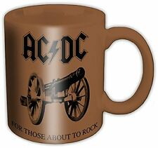 AC/DC FOR THOSE ABOUT TO ROCK BOXED MUG BRAND NEW OFFICIAL