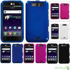 Snap On Hard Phone Case Cover For LG LS840(Viper) MS840(Connect 4G) Solid Color
