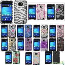 For AT&T SAMSUNG i777(Galaxy S II) Diamante Snap-on Hard Protector Case Cover